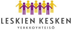 Leskien kesken -verkkoyhteisön logo